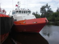 70 Pax Aluminum Fast Crew / Utility / Supply Boat For Sale