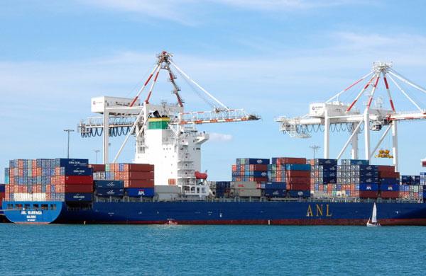 ANL Warringa port