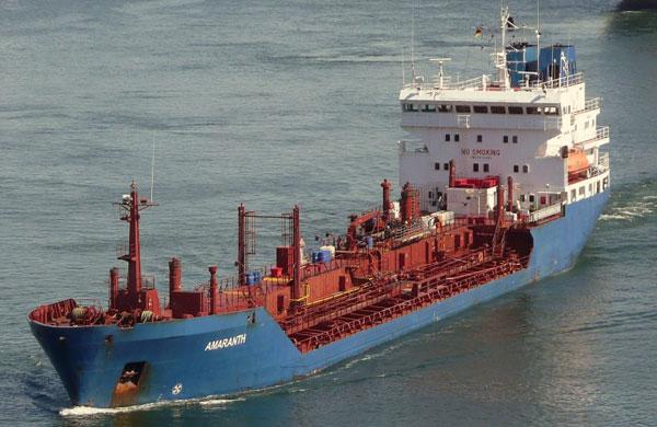 Amaranth tanker