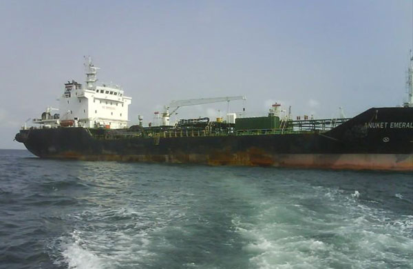 Anuket Emerald tanker