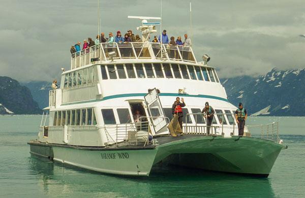 Baranof Winds catamaran