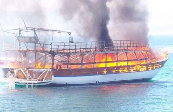 Didim Mavisi fire