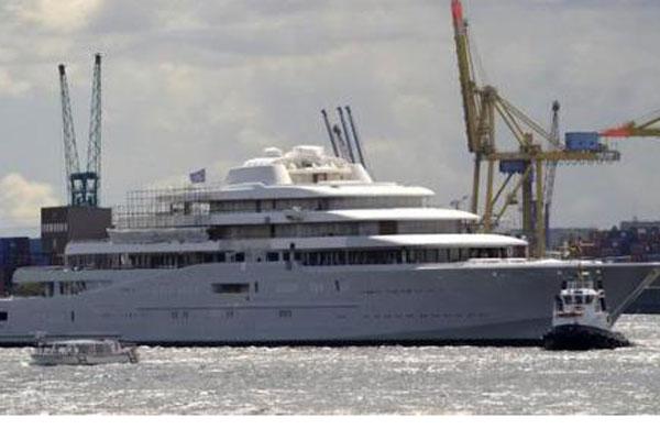 Eclipse luxury yacht