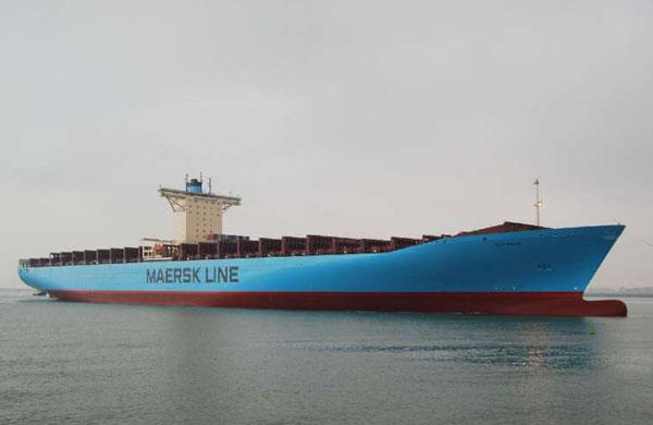 Elly Maersk ship