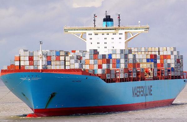 Elly Maersk vessel