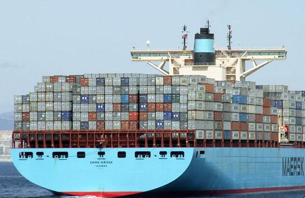 Emma Maersk aft