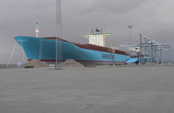 Emma Maersk line