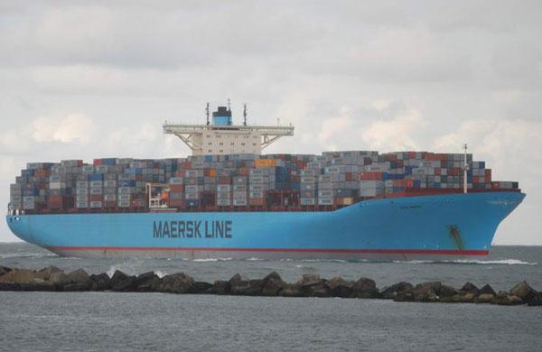 Emma Maersk ship