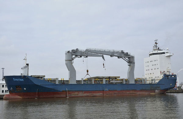 Everton cargo ship