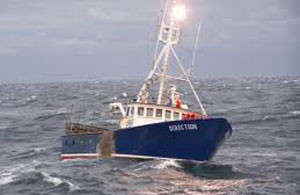 Fishing ship Astronavt
