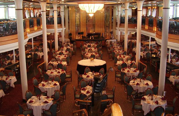 Grandeur of the Seas dining