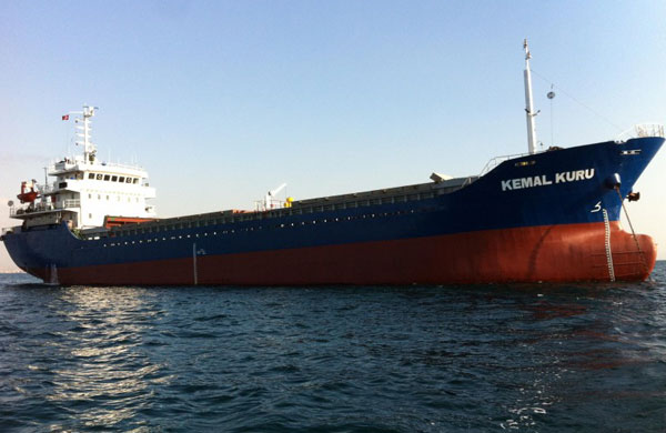 Kemal Kuru aground