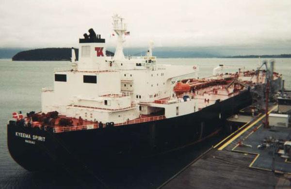 Kyeema Spirit ship