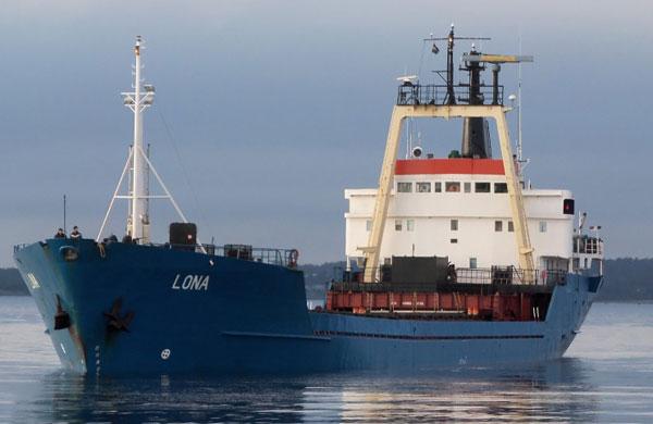 Lona cargo ship