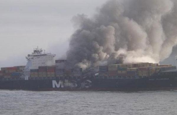 MSC Flaminia fire