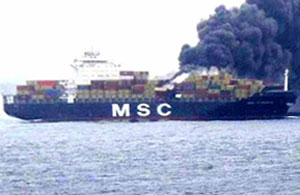 MSC Flaminia explosion