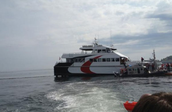 Provincetown III aground