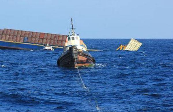 Tug sank Chinese Sea