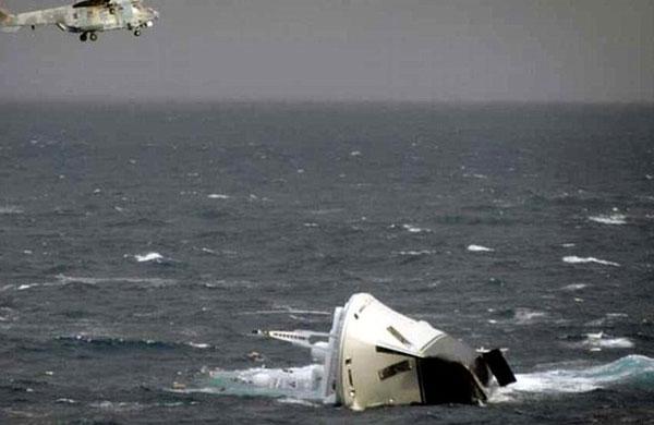 Yacht sank Southport