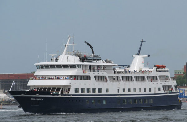 Cruise Ship Yorktown Ran Aground In Detroit River - Ships For Sale