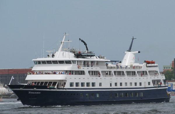 Cruise Ship Yorktown Ran Aground In Detroit River Ships For Sale - Cruise ship yorktown
