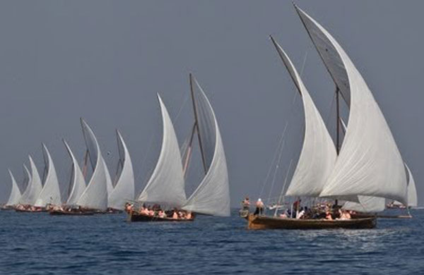 dhow ships