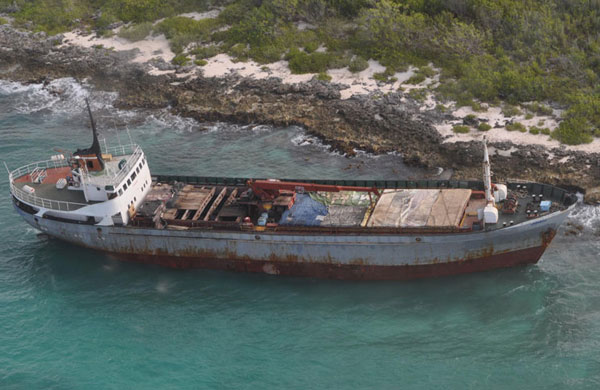 Freighter with 100 immigrants ran agrount in Puerto Rico - Ships For Sale